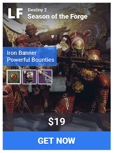 Selling] 🔥 Season 5 Iron Banner | Glory Rank Boost | Power